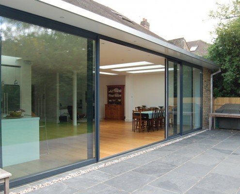 Quad Sliding Doors