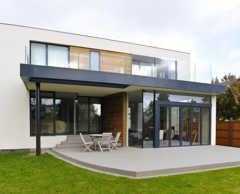Contemporary New Build House