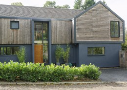 Contemporary wood cladding