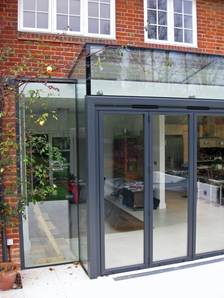Glass Extension Kate Stoddart Architect