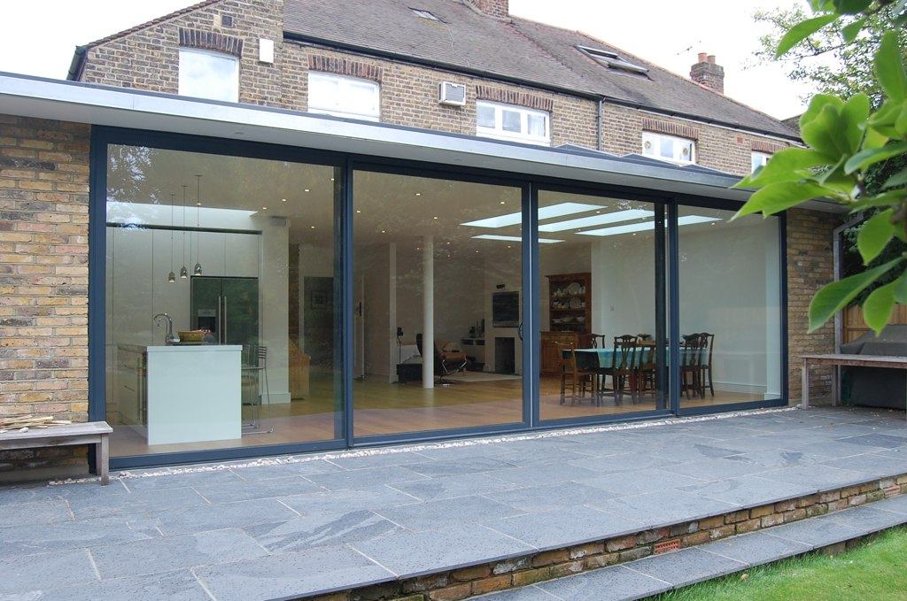 Full Width Rear Extension on Conservatory House
