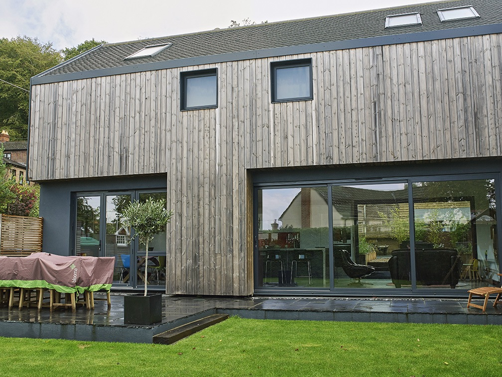Contemporary house kate stoddart architect for Modern wood house